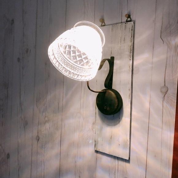 ライト&ランプシェードの100均DIY3
