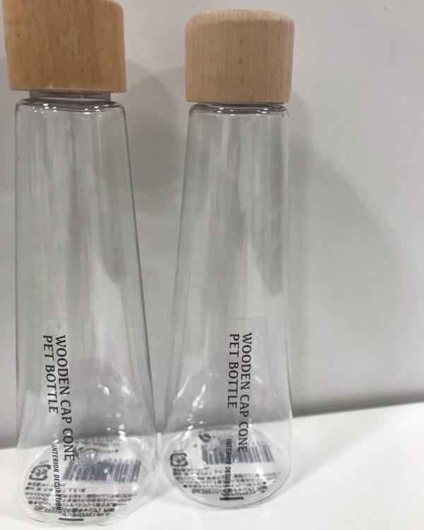 【セリア】インテリアペットボトル