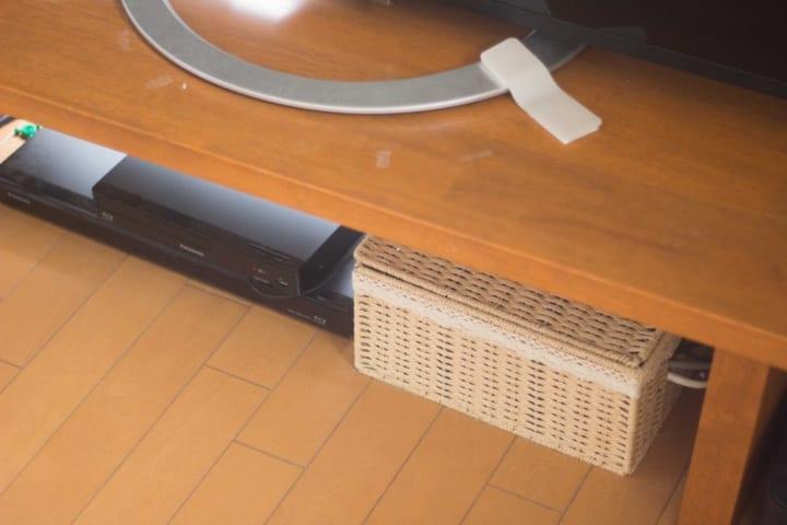 電子機器関連アイテムの収納方法3