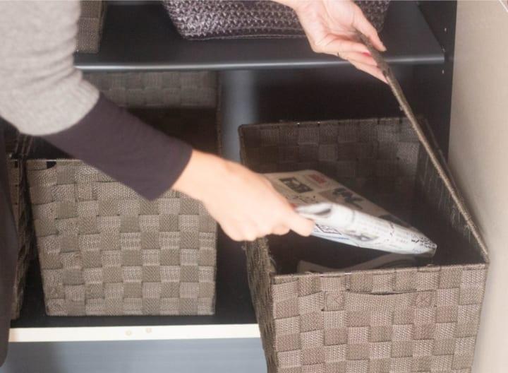 郵便物の収納方法