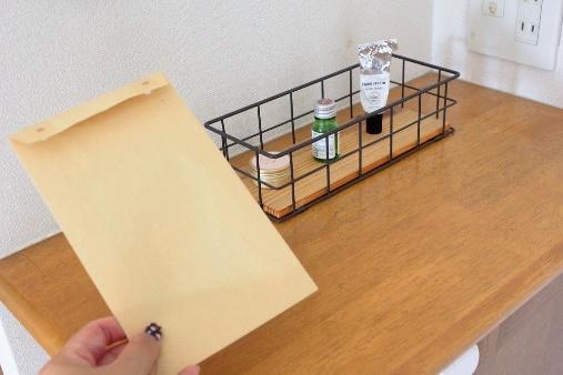 郵便物の収納方法2
