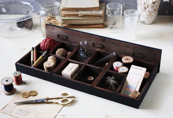 接着するだけの簡単DIY!コレクショントレイの作り方4