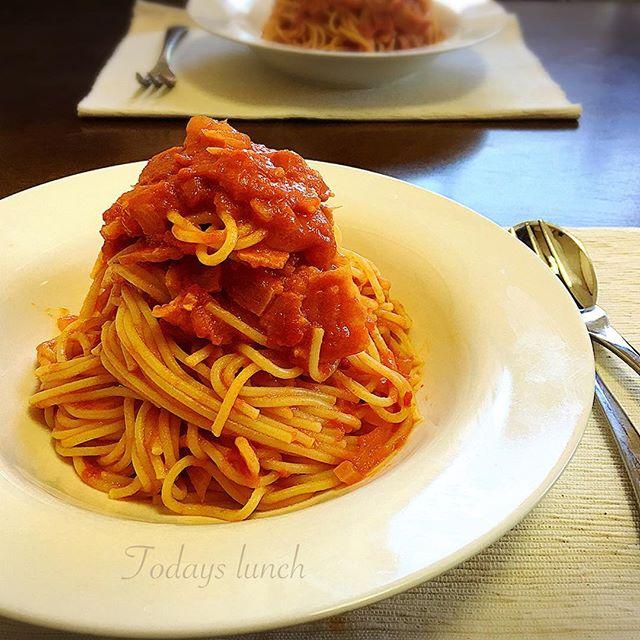 トマトクリームパスタの人気レシピ2