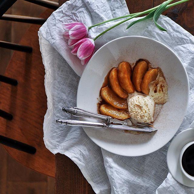 りんごの塩キャラメルバター