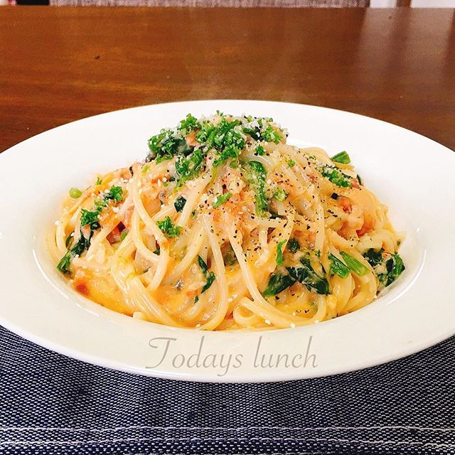 トマトクリームパスタの人気レシピ7