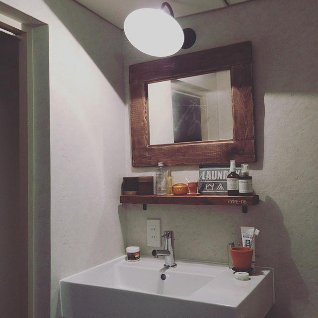 賃貸でもOKな簡単洗面台DIY15
