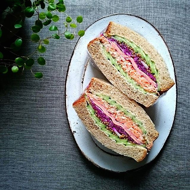 ツナを使ったレシピ《サンドイッチ》7