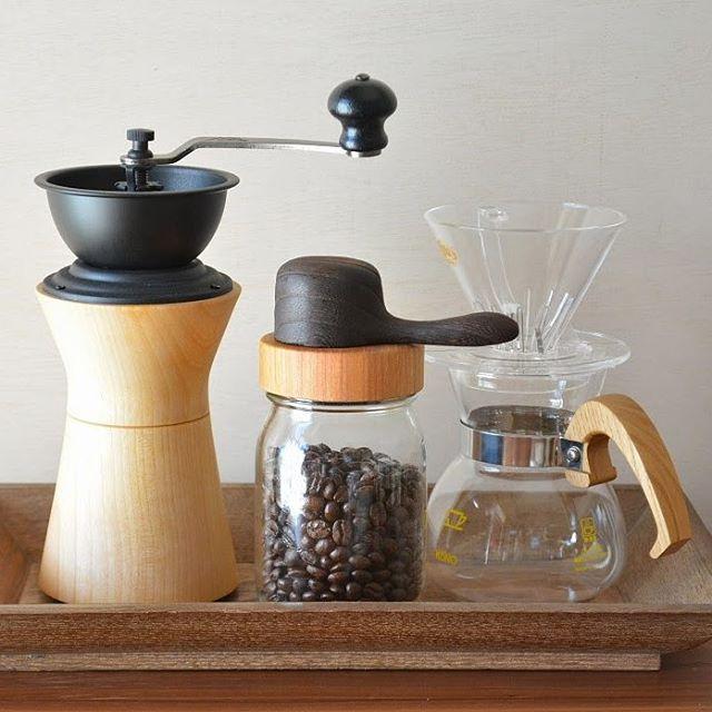 モダンなコーヒーミルのある空間2