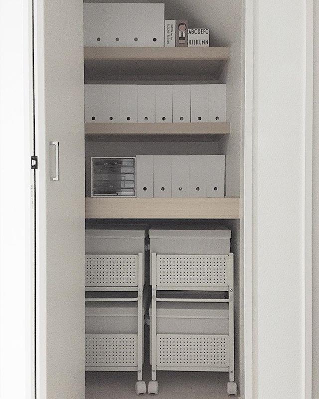 ニトリ・IKEAアイテムを活用した子供服収納アイデア☆2
