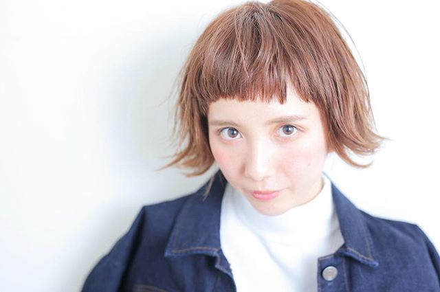 外国人風カラー×ショートヘア2