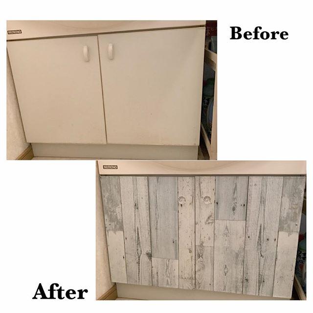 賃貸でもOKな簡単洗面台DIY2