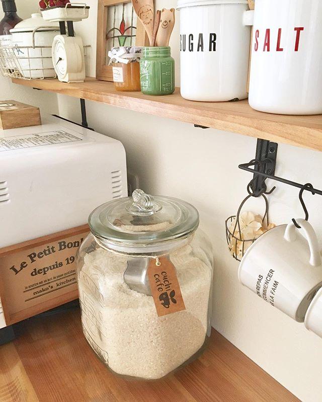お米は詰め替えが使いやすい1