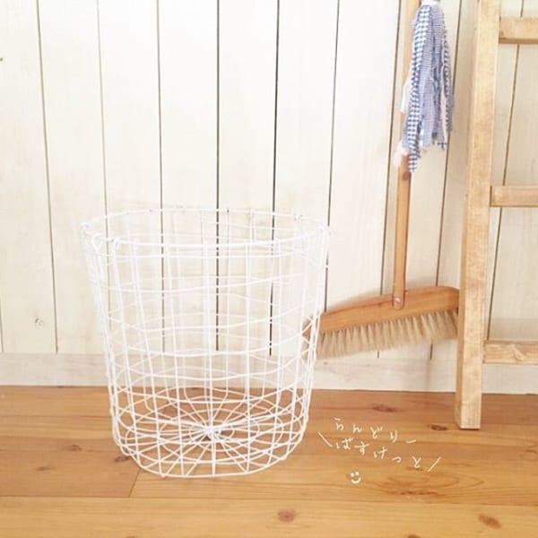4. ランドリーバスケットは通気性の良いものを