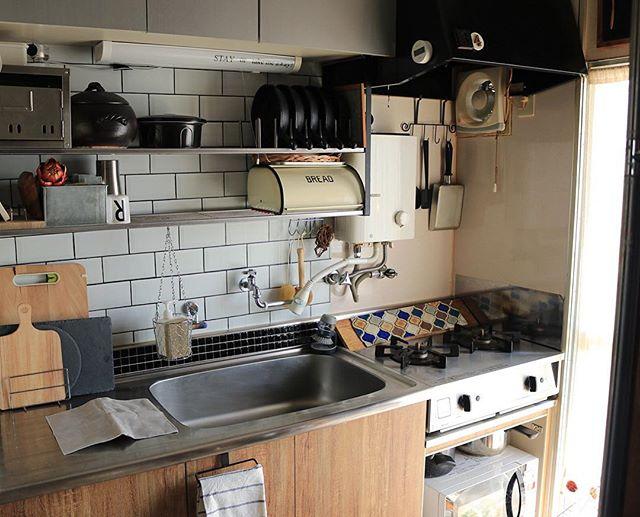 2DKのキッチン収納4