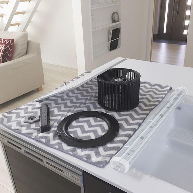 北東のキッチンにおすすめアイテム②換気扇の掃除グッズ 風水2