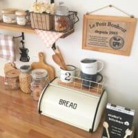 ブレッドケースのある空間♪さまざまな活用で楽しむおしゃれキッチン