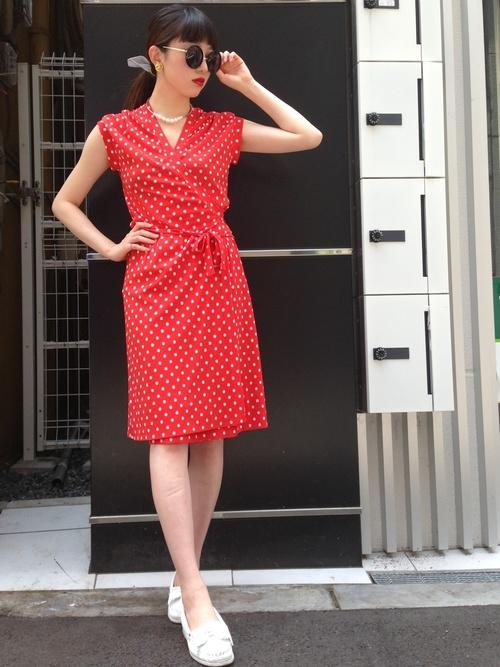 レトロファッション《ワンピーススタイル》