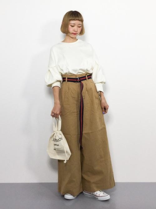 レトロファッション《パンツスタイル》3