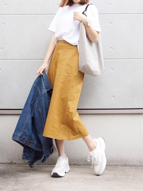 ユニクロ プチプラ スカート10