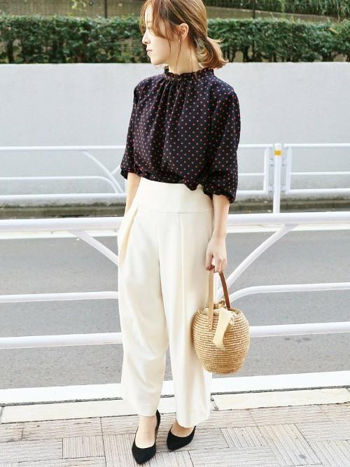レトロファッション《パンツスタイル》5
