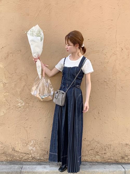 [STUDIOUS WOMENS] 【CASA FLINE】 フロントホックデニムロングワンピース 1191305085