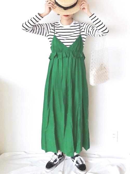レトロファッション《ワンピーススタイル》7