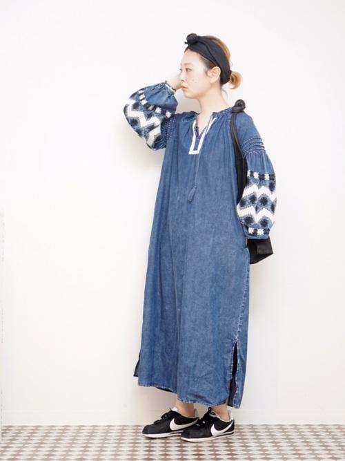 レトロファッション《ワンピーススタイル》10