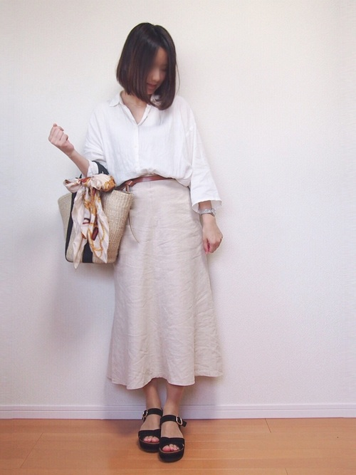ユニクロ プチプラ スカート9