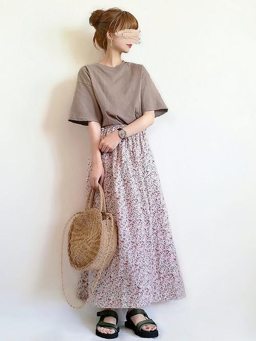 レトロファッション《スカートスタイル》4