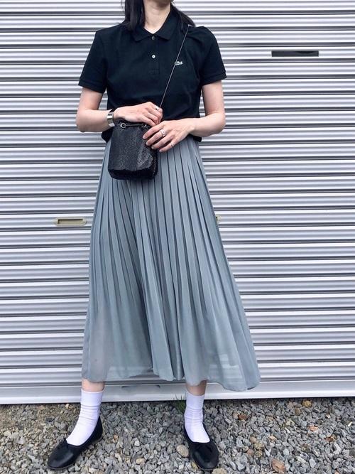 ユニクロスカート×大人女子10
