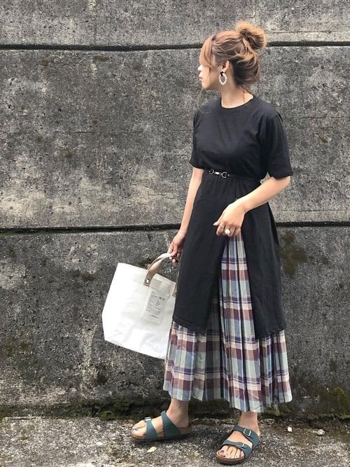 [Ne-net] シースルーチェック スカート