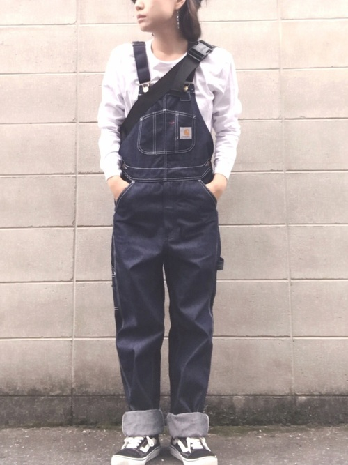 20[THE BAREFOOT] 【carhartt/カーハート】R08 Denim Bib Overalls