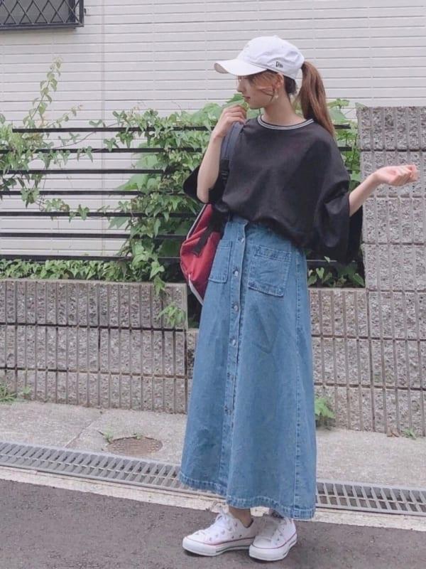 GUのスカートを取り入れたおすすめコーデ10