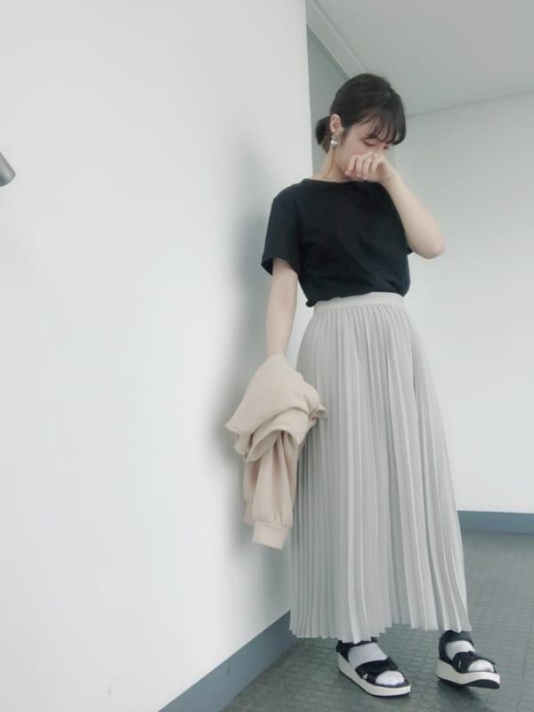 GUのスカートを取り入れたおすすめコーデ7