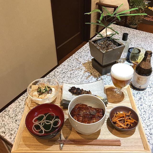 秋 旬 うなぎ レシピ2