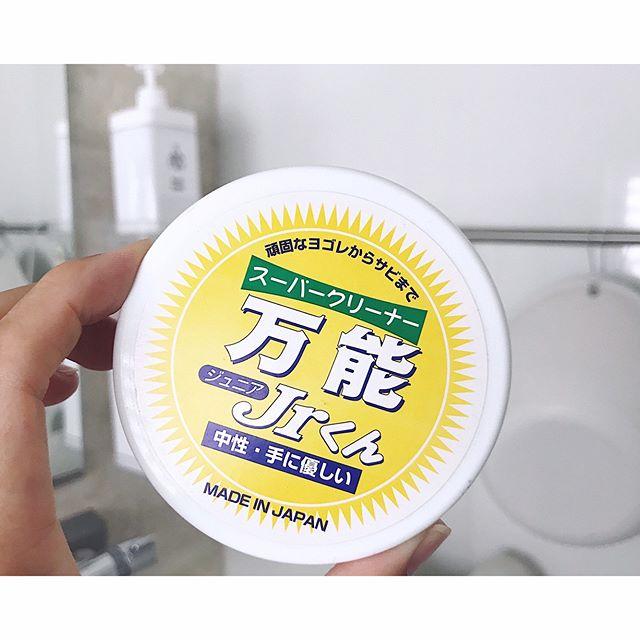 バスルームの掃除グッズと洗剤をご紹介!