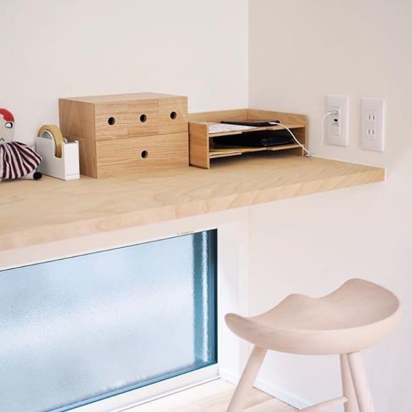 シンプルデザインで、大人も使えるスペースに2