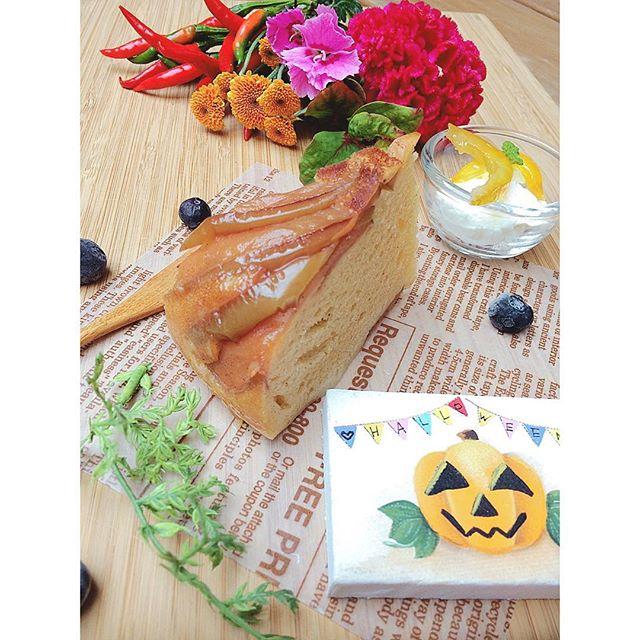 炊飯器で作る簡単りんごケーキ