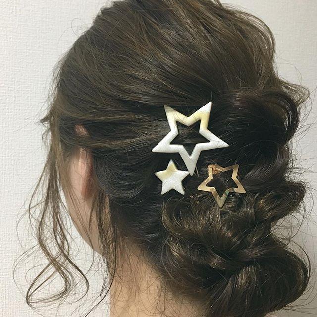 結婚式の髪型《ミディアム×シニヨンヘア》6