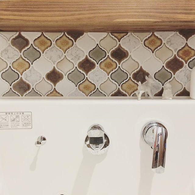 1DK 洗面所インテリア 収納3
