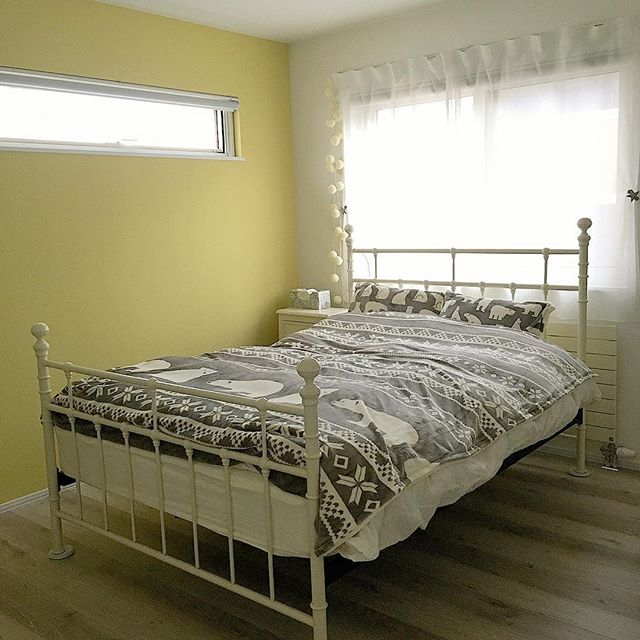 海外風インテリア 寝室5