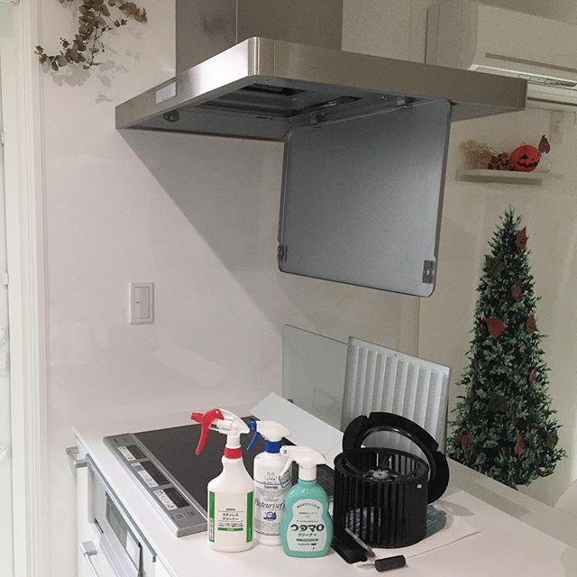北東のキッチンにおすすめアイテム②換気扇の掃除グッズ 風水