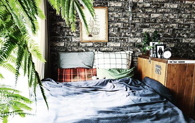 海外風インテリア 寝室2