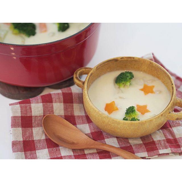 ステーキ 献立 スープ2