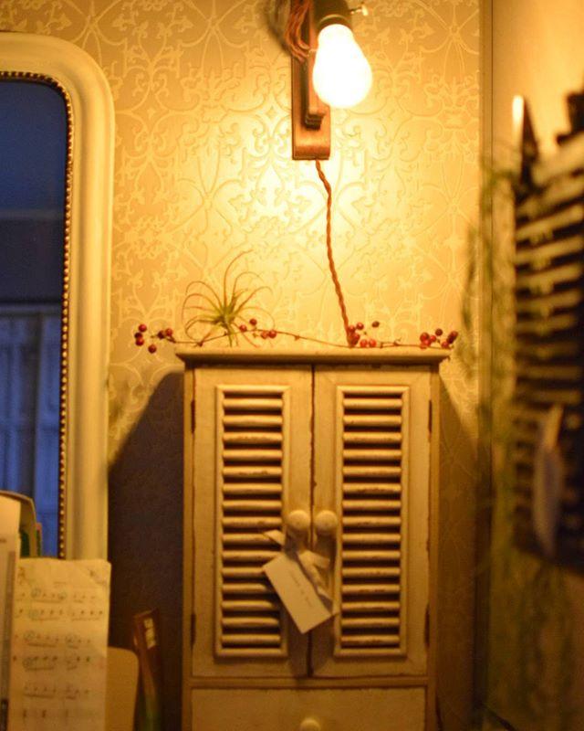 壁付けタイプのランプ3
