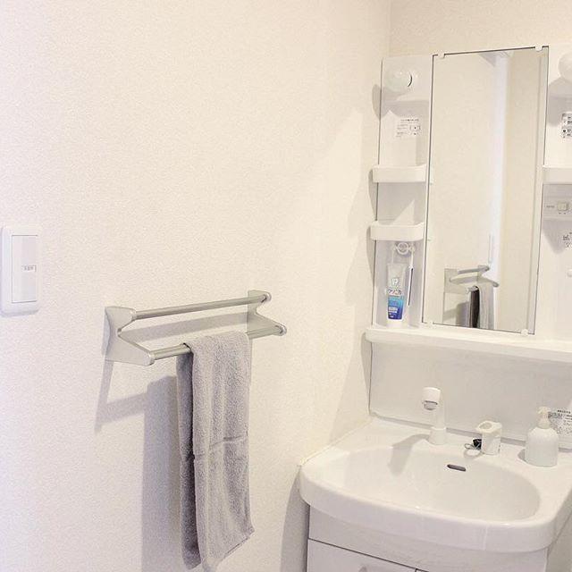2DKの洗面所・トイレ収納