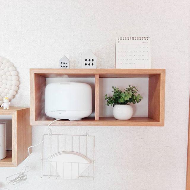 無印良品 壁に付けられる家具2