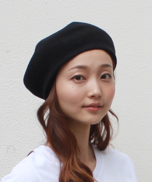 [perky room] COTTON KNIT BERET