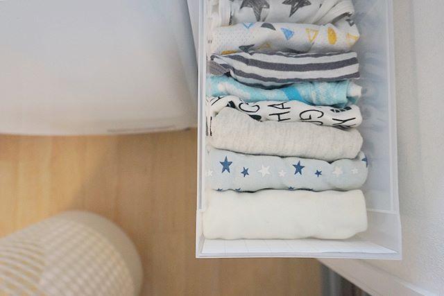 子供服の押し入れ収納アイデア4