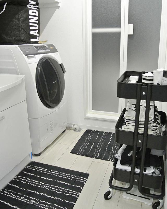 2DKの洗面所・トイレ収納3